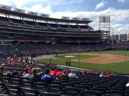 Washington National Seating Chart Views Nationals Park Seating Charts Washington Nationals Seat View