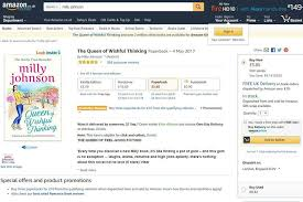 Amazon Book Charts Sales Uk Author Milly Johnson Finds Six Books With Her Name On Them