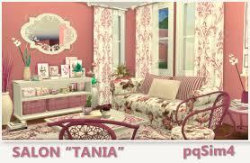 Salon Tania. Sims 4 Custom Content.