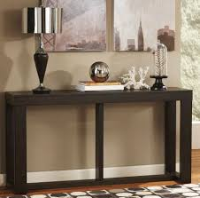 Chicago Furniture Stores Dark Wood Console Table