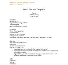 How To Make A Resume For A High School Student 23 High School Resume Templates And Samples