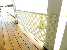 outdoor dog gate for deck stairs pet lattice and hooks to hang it gates stair how pressure mounted pet gate extra wide baby wood outdoor