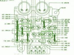 jeep wrangler yj fuse box diagram auto wiring diagram fuse mapcar wiring diagram page 279 on 1990 jeep wrangler yj fuse box diagram