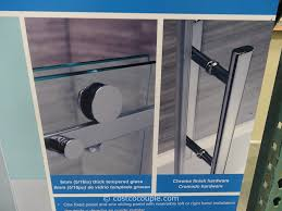 ove decors 60 inch premium rolling tub door costco 3