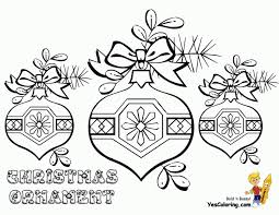 Small Picture Coloring Pages New Coloring Page Christmas Ornaments Christmas