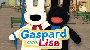 Gaspard och Lisa | <b>Barnkanalen</b>