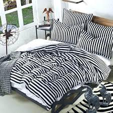black and white stripe duvet gray and white striped bedding navy and white striped bedding black