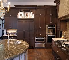 Elegant Kitchen mullet cabinet elegant kitchen with dual round islands 8276 by xevi.us