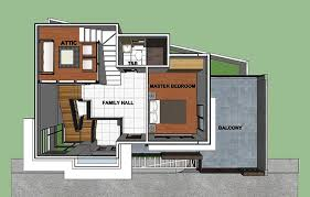 simple two y house concept with 3