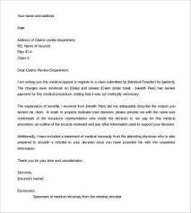 Appeal Letter Sample Template Business