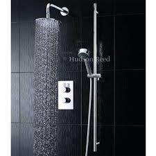 hudson reed shower reed rapid concealed thermostatic shower valve with slider rail kit fixed round hudson