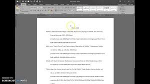 Microsoft Word Apa Header Using Microsoft Word Mla Style Quick Guide For Nwacc