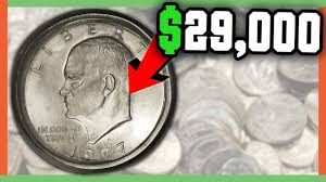 1972 Eisenhower Silver Dollar Value Chart 29 000 Rare Eisenhower Dollar Coins Worth Money Ike Dollar Value