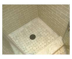 master bath shower floor detail