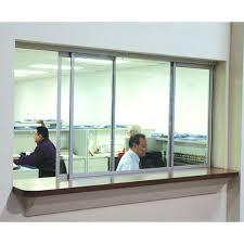 sliding office window. Office Aluminum Sliding Windows Window
