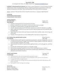 Objective For Social Work Resume Social Work Case Manager Resume Case Manager Resume Case Manager 39