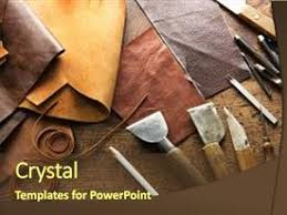 Leather Templates 5000 Leather Tools Powerpoint Templates W Leather Tools Themed
