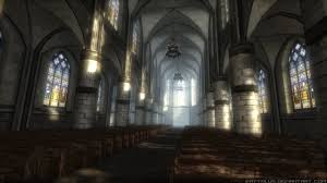 gothic church interior and exterior 3d model low-poly max obj 3ds fbx mtl 1  ...