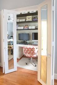 3 Easy \u0026 Creative Steps To A DIY Closet Office . From Organizing And  Decorating Pinterest