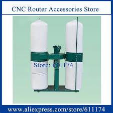 1.5Kw AC220V/AC380V Gỗ CNC hút bụi Đôi thùng Máy hút bụi gỗ hút bụi|router  power|collector systemrouter mill - AliExpress