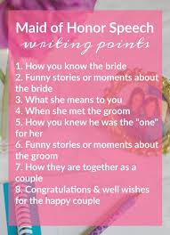 best bridesmaid speeches ideas sister wedding tips for writing presentating a really good maid of honor speech theblueeyeddove com