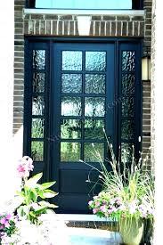 6 panel exterior door with glass panel front door s s glass panel entry door panel front