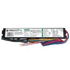120 volt electronic ballast for 4 ft 4 lamp t8 fixture 93885 347 to 480 volt ultrastart electronic program rapid start ballast for t5 fixture