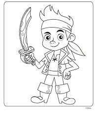 Small Picture Kids n funcom 9 coloring pages of Jake and the Never Land Pirates
