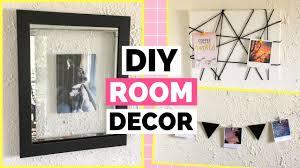 3 easy diy room decor ideas diy floating frame memo board a picture garland