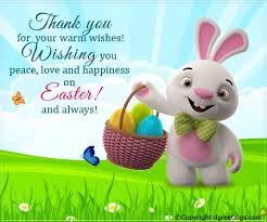 Thank You Easter Love And Happiness Easter Thank You Cards