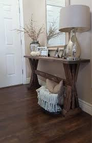 rustic farmhouse entryway table by on accent decor color ideas