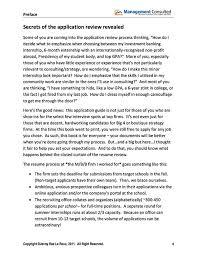 RCLBPreface Management Consulted Gorgeous Resume Preface