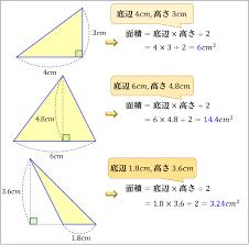 三角形 の 面積 公式