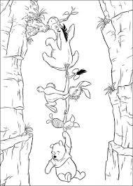 Disegno Di Winnie The Pooh Pimpi Tappo E Ih Oh Da Colorare