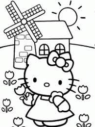 Hello Kitty Kleurplaten Topkleurplaatnl