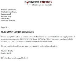 Letter To Terminate Contract With Supplier Business Contract Cancellation Letter Agreement Sample