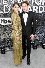 SAG Awards 2020: Natalia Dyer and Charlie Heaton Show Rare ...