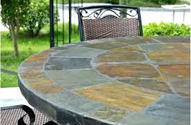 slate patio table slate patio round slate patio table lovely round slate outdoor patio dining table