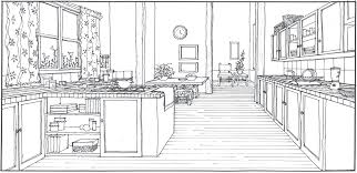 Interior Design Kitchen Drawings Image Credit Adrienne Breaux