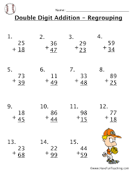 Addition Worksheets Have Fun Teaching Worksheets for all ...