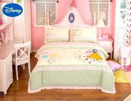 disney bedding set lace snow white princess bedding set girls baby bed sheet cartoon cotton fabric
