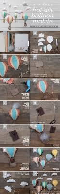 diy felt hot air balloon mobile liagriffith com