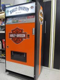 Harley Davidson Vending Machine Interesting Harley Davidson Vending Machine Custom Order Old Coke Machine
