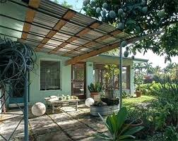 corrugated metal awning ideas metal awnings for patios or wood patio awning kits nice corrugated metal and wood awning over patio retractable metal patio