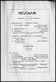 sample concert program sample concert programs pro88 tk