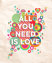 Need Love Quotes All You Need Is Love Quote Poster Background Stock Vector 75