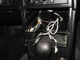 1993 volvo 940 wagon installing new stereo