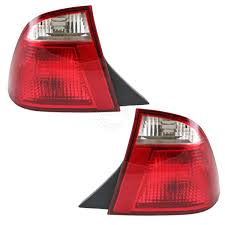 2005 Ford Focus Brake Light Details About Taillights Taillamps Rear Brake Lights Pair Set For 05 07 Ford Focus 4 Door