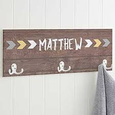 Name Coat Rack Personalized Kids' Coat Rack Tribal 98
