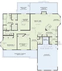 images about House Plans on Pinterest   House plans    One level house plan    optional basement    sq  ft  Maybe straighten the island in the kitchen  and take out one of the master closets to create